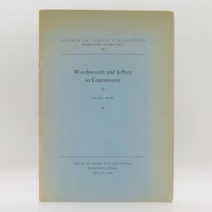 Wordsworth and Jeffrey in Controversy