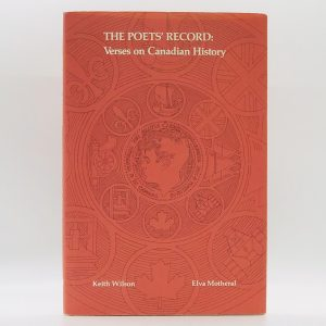 The Poets' Record: Verses on Canadian History